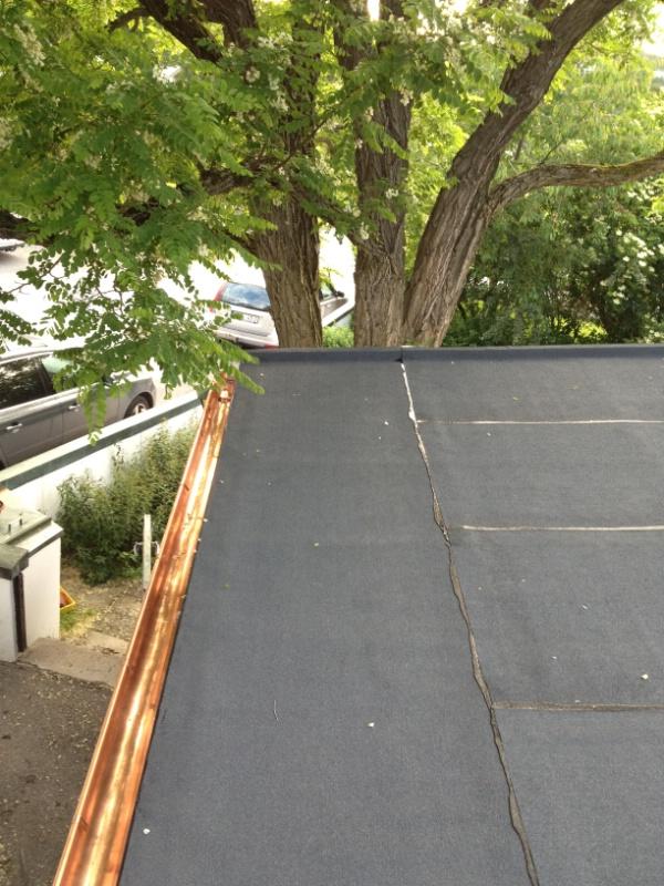 Byte av tak: Bromma