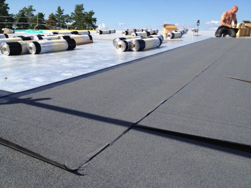 Byte av tak: Tyresö