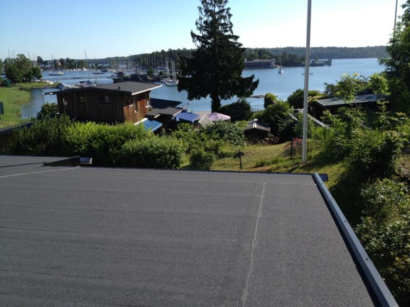 Byte av tak: Saltsjöbaden